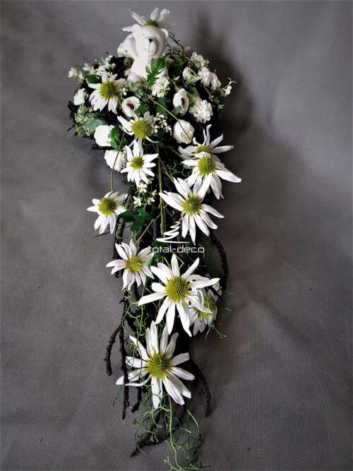 kompozycja nagrobna dziecięca/stroik na grób dziecka