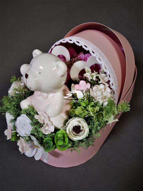flower box/prezent dla noworodka