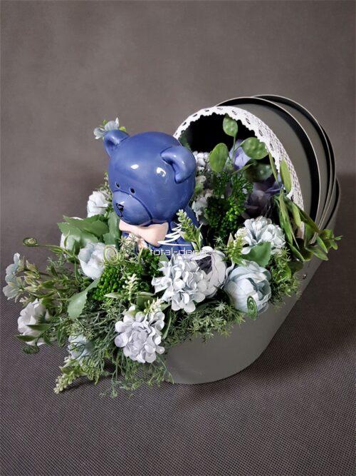 flower box/prezent z okazji narodzin dziecka