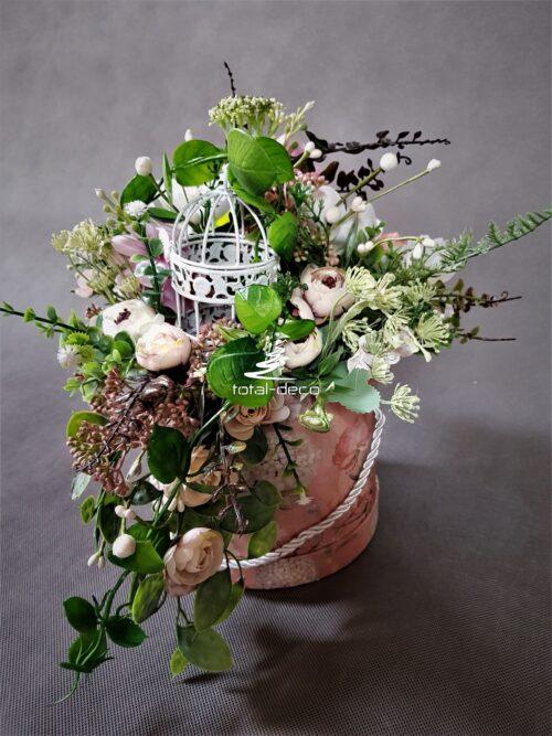 flower box/nowoczesna kompozycja kwiatowa