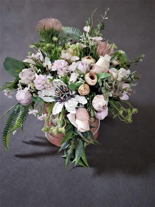 flower box/dekoracja kwiatowa w pudełku