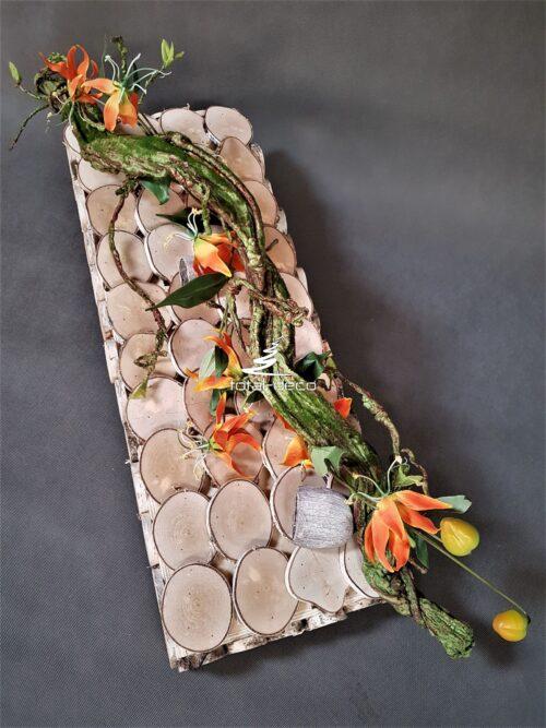 nowoczesna dekoracja na cmentarz/kompozycja nagrobna