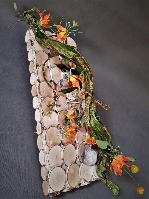 oryginalny stroik na cmentarz/dekoracja nagrobna