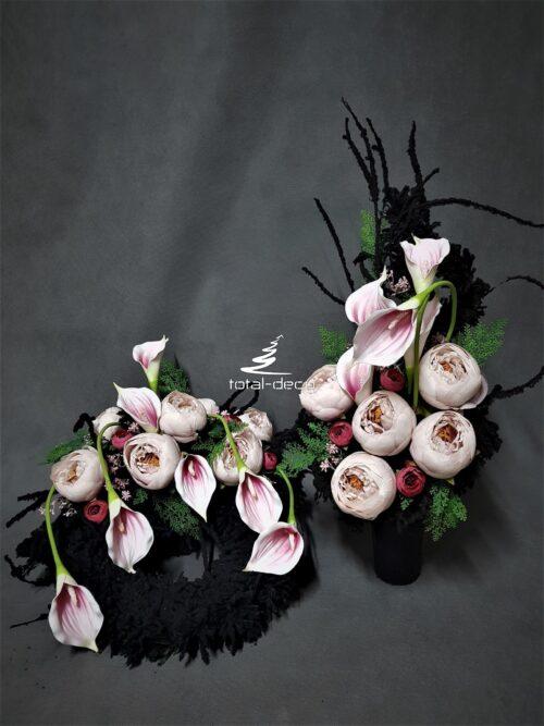 wiązanka i bukiet na wszystkich świętych/stroiki na cmentarz