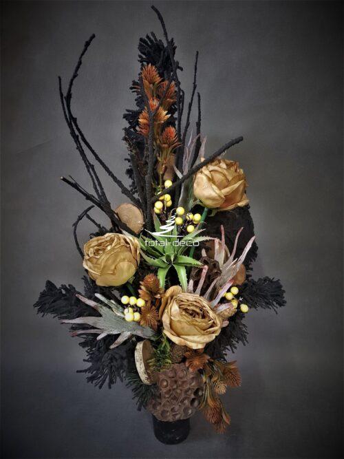 bukiety na cmentarz ze sztucznych kwiatów