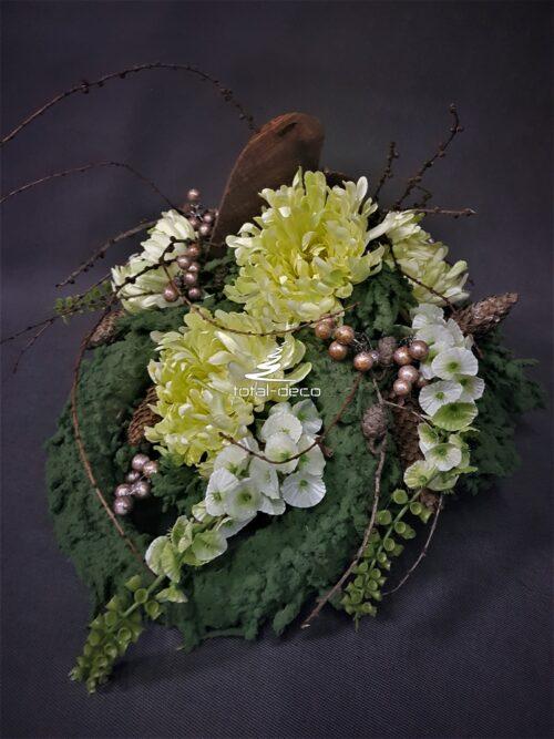 Kwiaty na cmentarz kompozycje