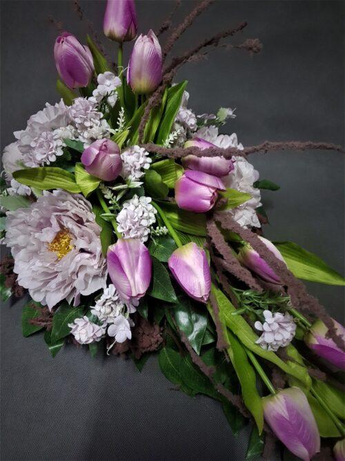 oryginalne wiązanki z tulipanów