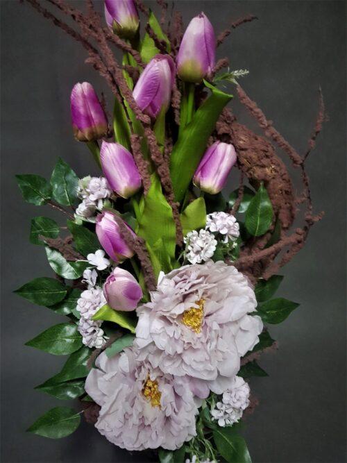 kwiaty na wielkanoc na cmentarz