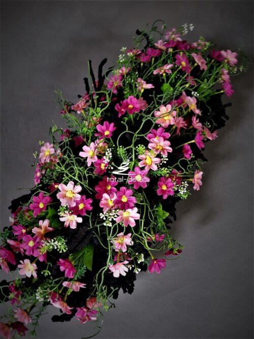 wiązanka/kwiatowa kompozycja na cmenrarz