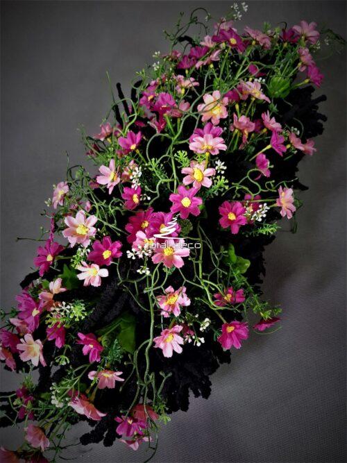 szruczne kwiaty na cmentarz/wiązanki kwiatowe