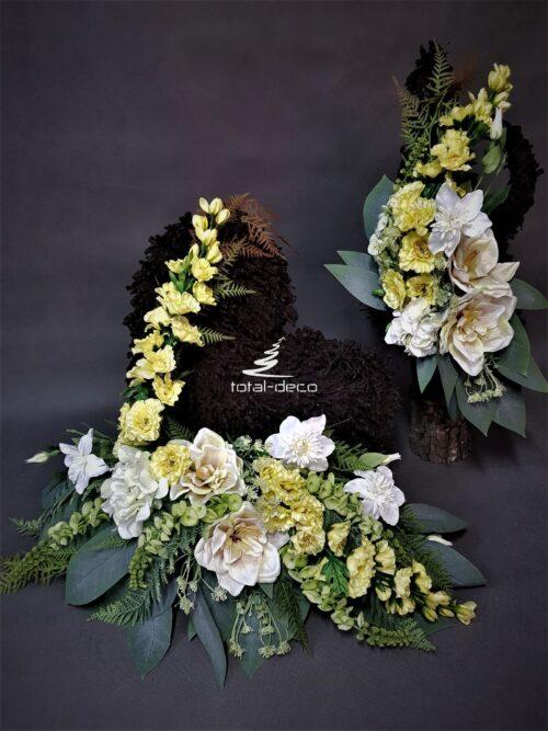stroik na cmentarz serce